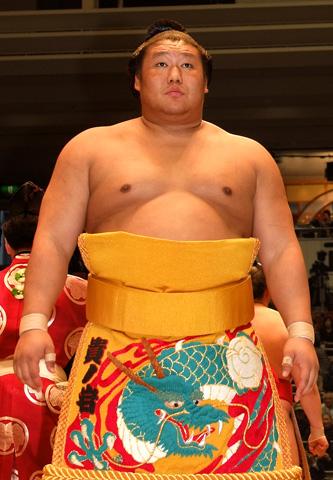 お相撲さんの貴ノ岩