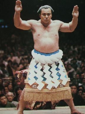 Sumo wrestler Chiyonofuji Mitsugu.