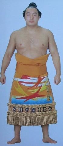 Sumo wrestler Terao Tsunefumi.
